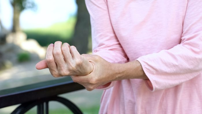 osteoporosis of the wrist