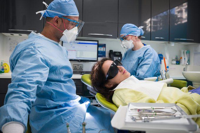 dentist appointment during coronavirus pandemic