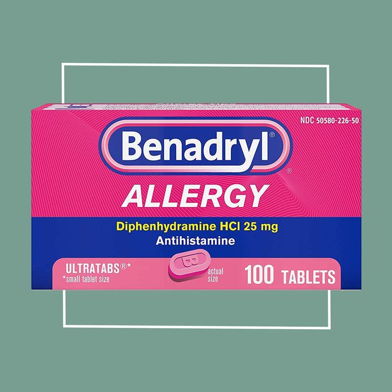 benadryl allergy pills