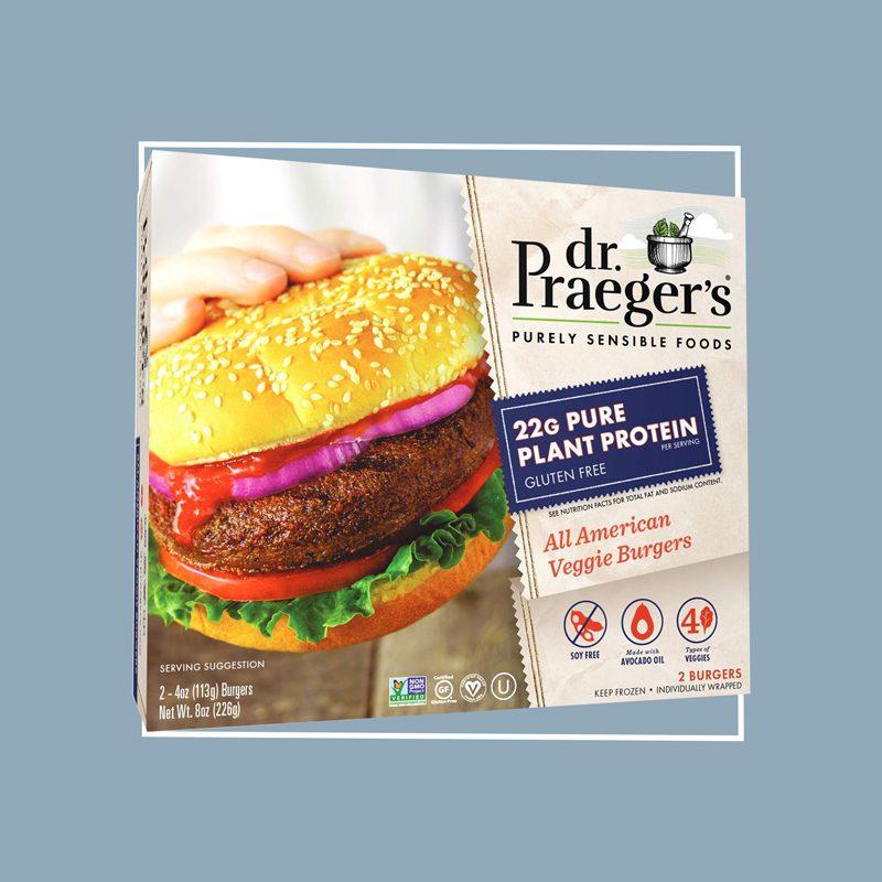 dr praeger's all american burger