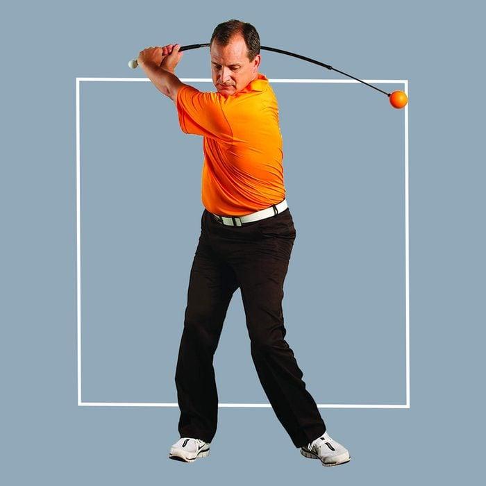 orange whip golf trainer aid