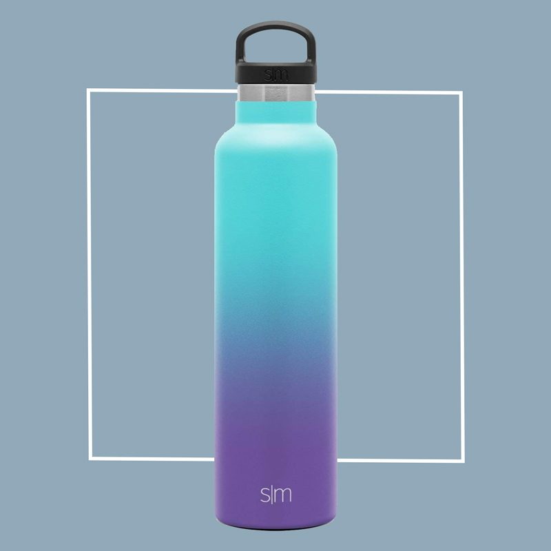 simple modern stainless steel water bottle