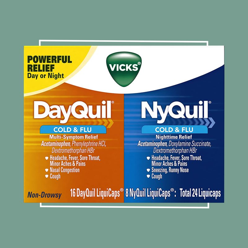 vicks nyquil and dayquil pack