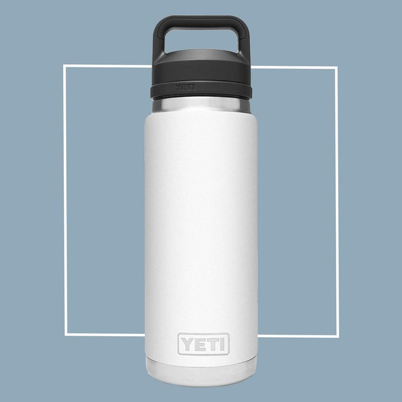 yeti rambler stainless steel water bottle