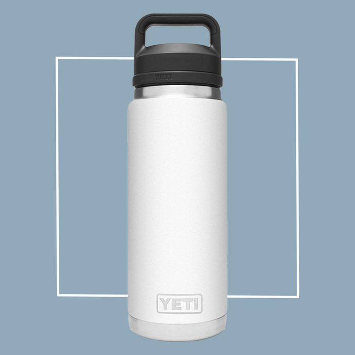 yeti rambler stainless steel water bottle