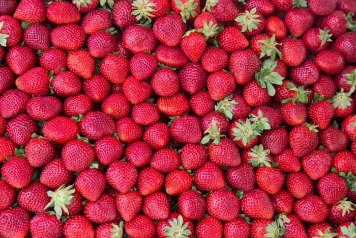 strawberries full frame