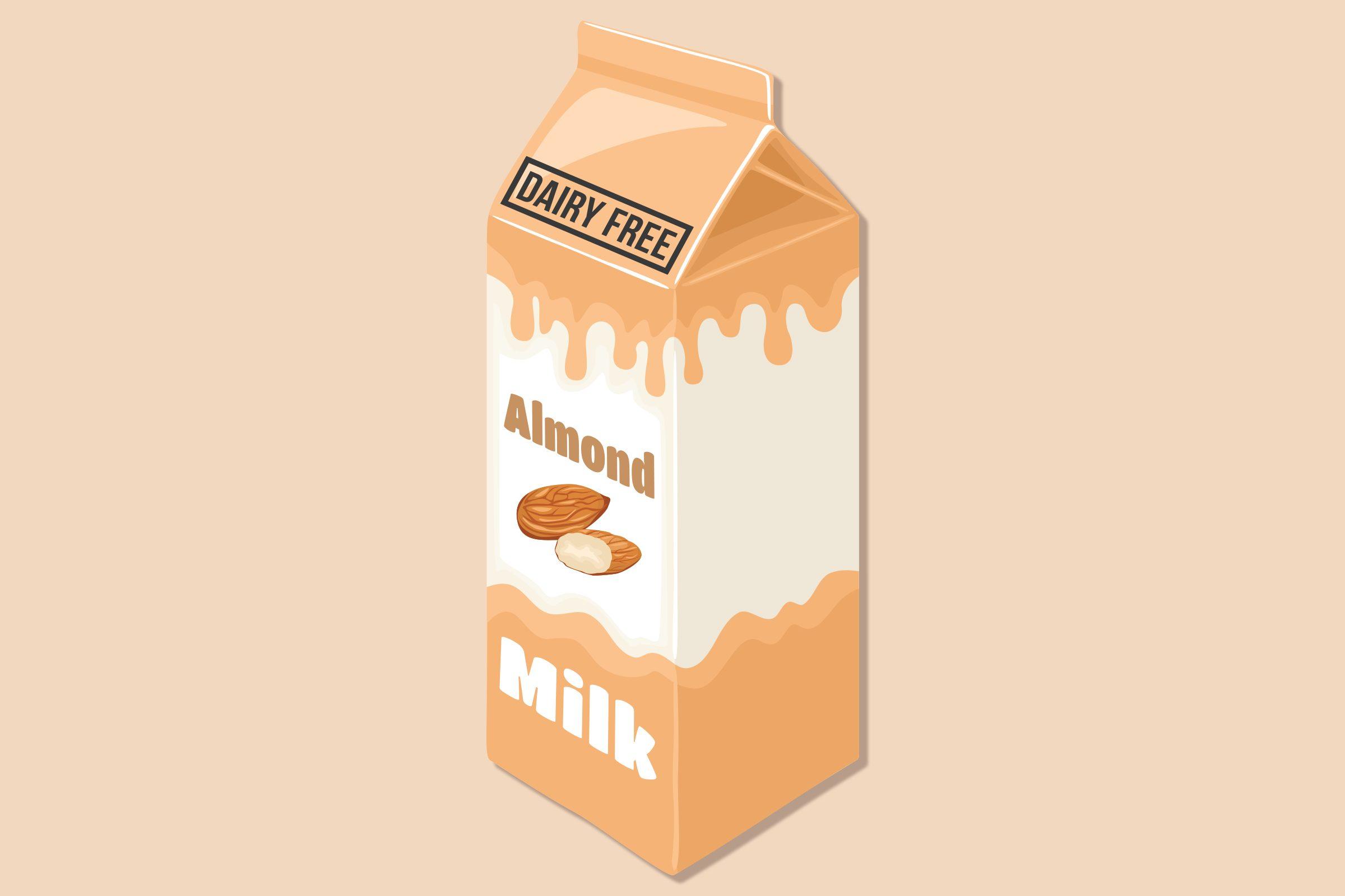 dairy free almond milk