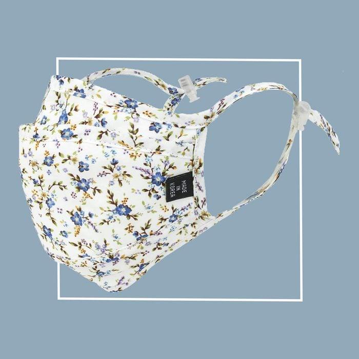 ililily face mask floral