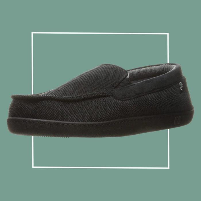 isotoner men's slipper