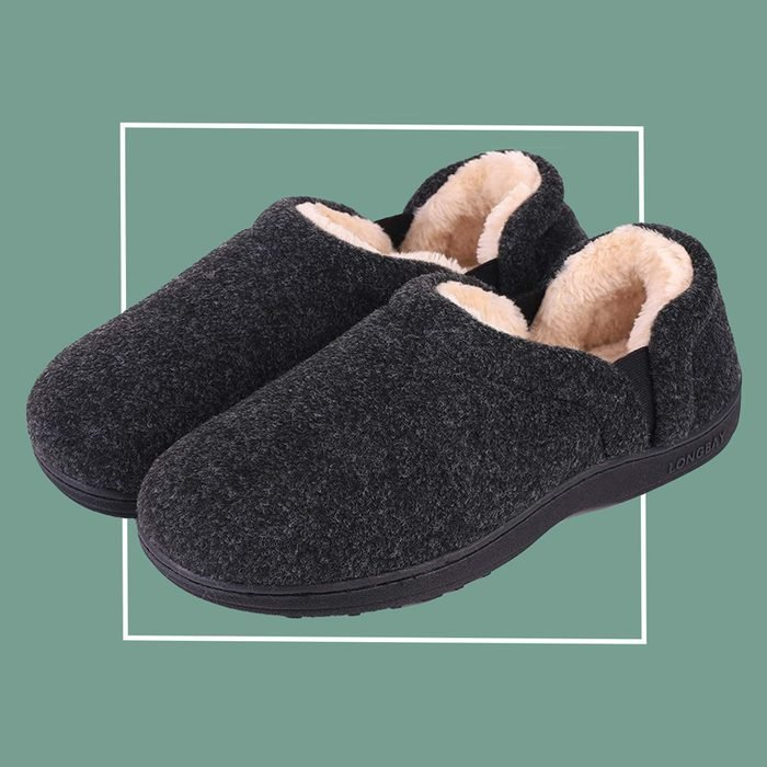 long bay men's house shoes