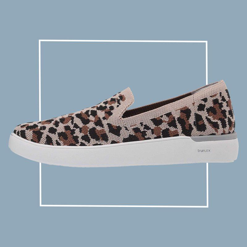rockport truflex slip on sneaker