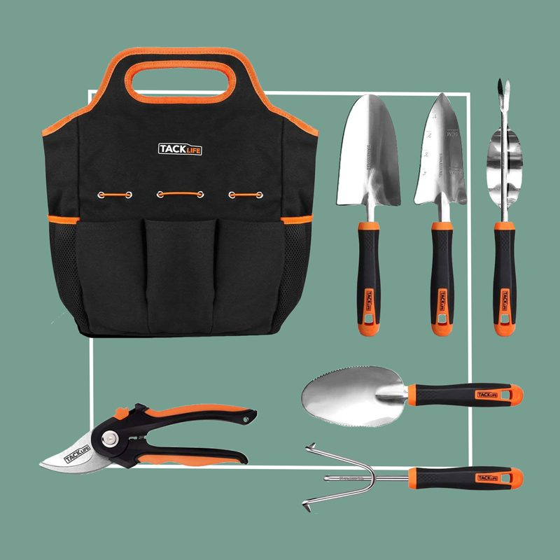 tacklife garden tool set