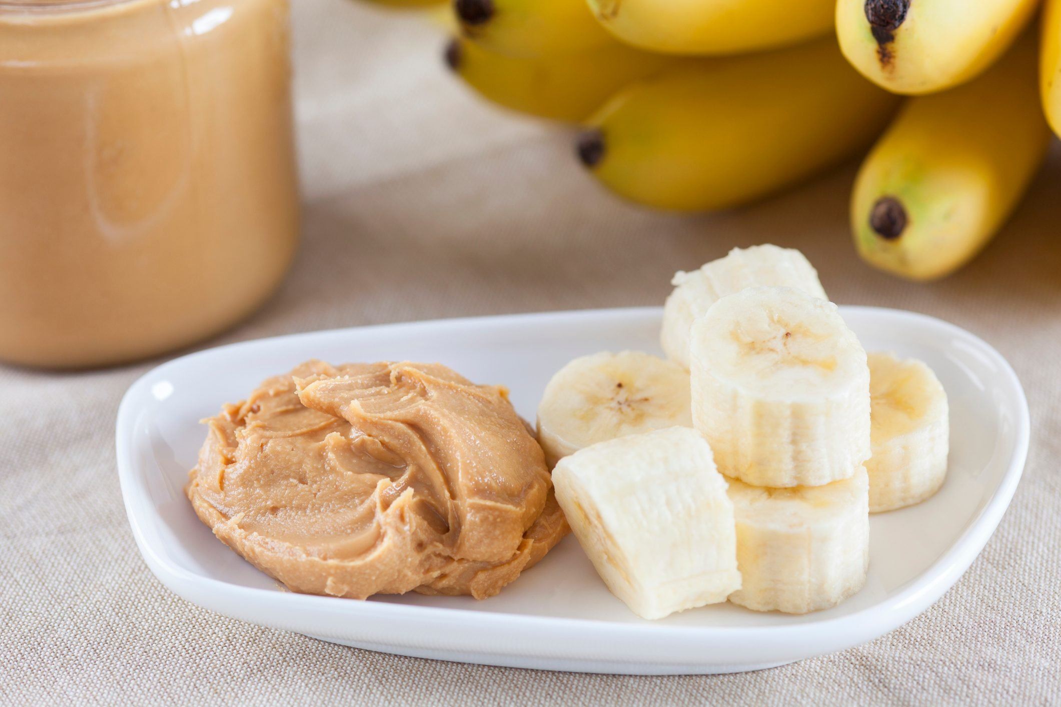 peanut butter and banana breakfast