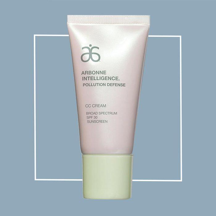 arbonne pollution defense sunscreen