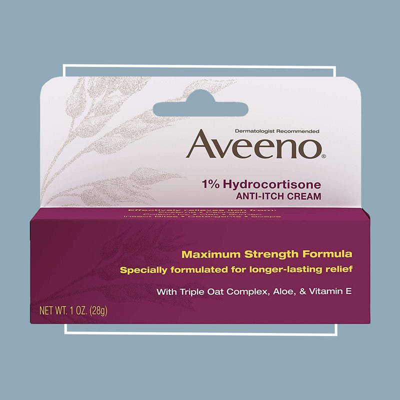 aveeno hydrocortisone itch cream