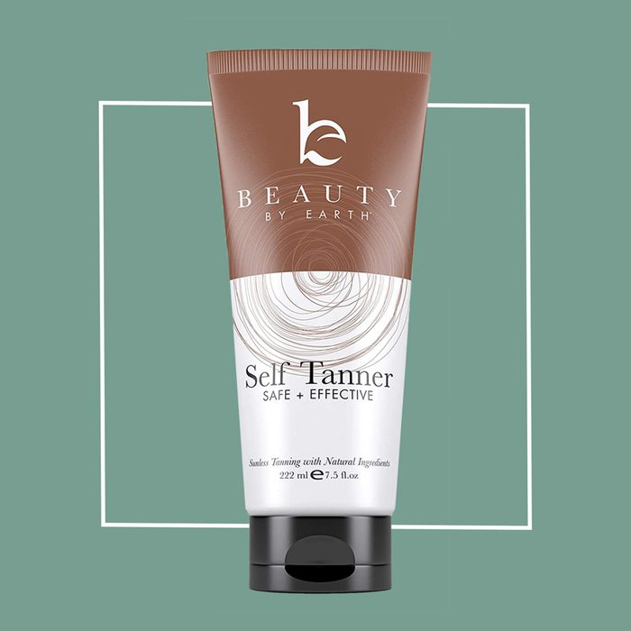 be beauty by earth organic self tanner