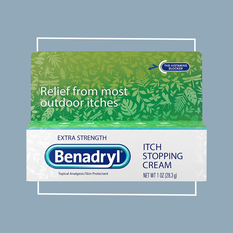 benadryl itch stopping cream