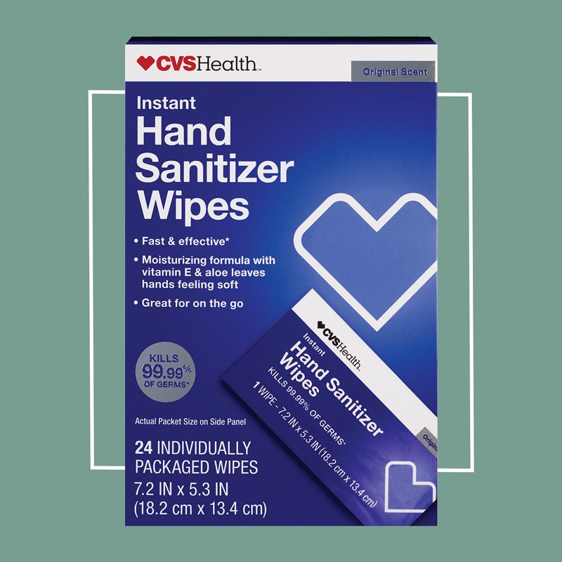 cvs health hand sanitizer wipes