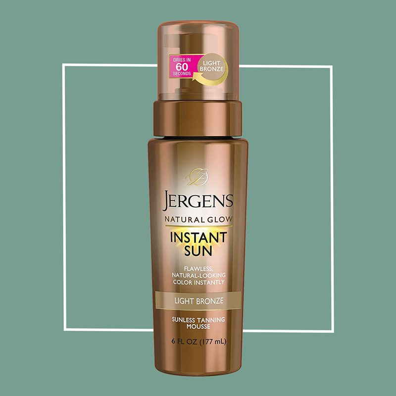 jergens instant sun self tanner