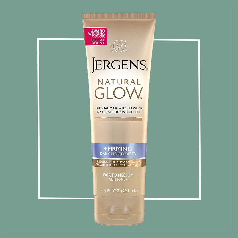 jergens natural glow tanning lotion
