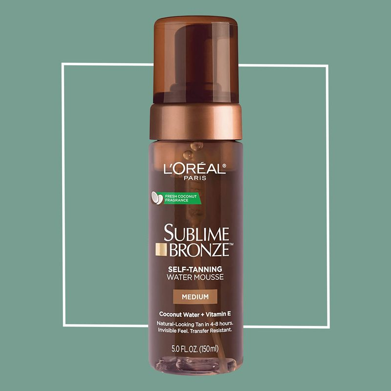 l'oreal sublime bronze tanning mousse