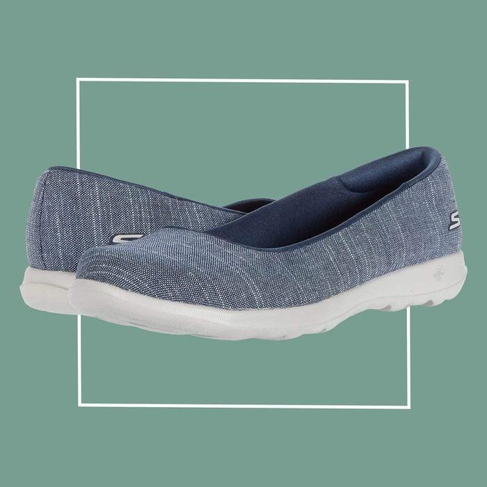 skechers go walk lite slip on shoes