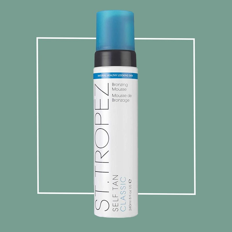st. tropez self tanning mousse