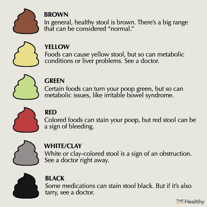 stool color chart