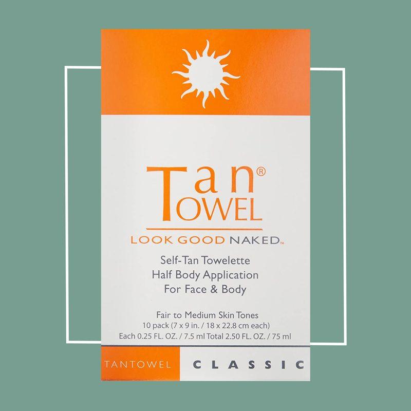 tan towel self tanning towlettes