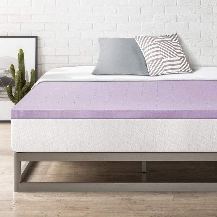 Best Price Mattress Queen Memory Foam Mattress Topper with Lavender
