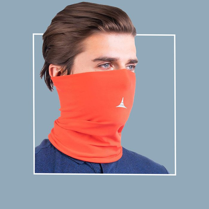 Filtered neck gaiter: French Fitness Revolution