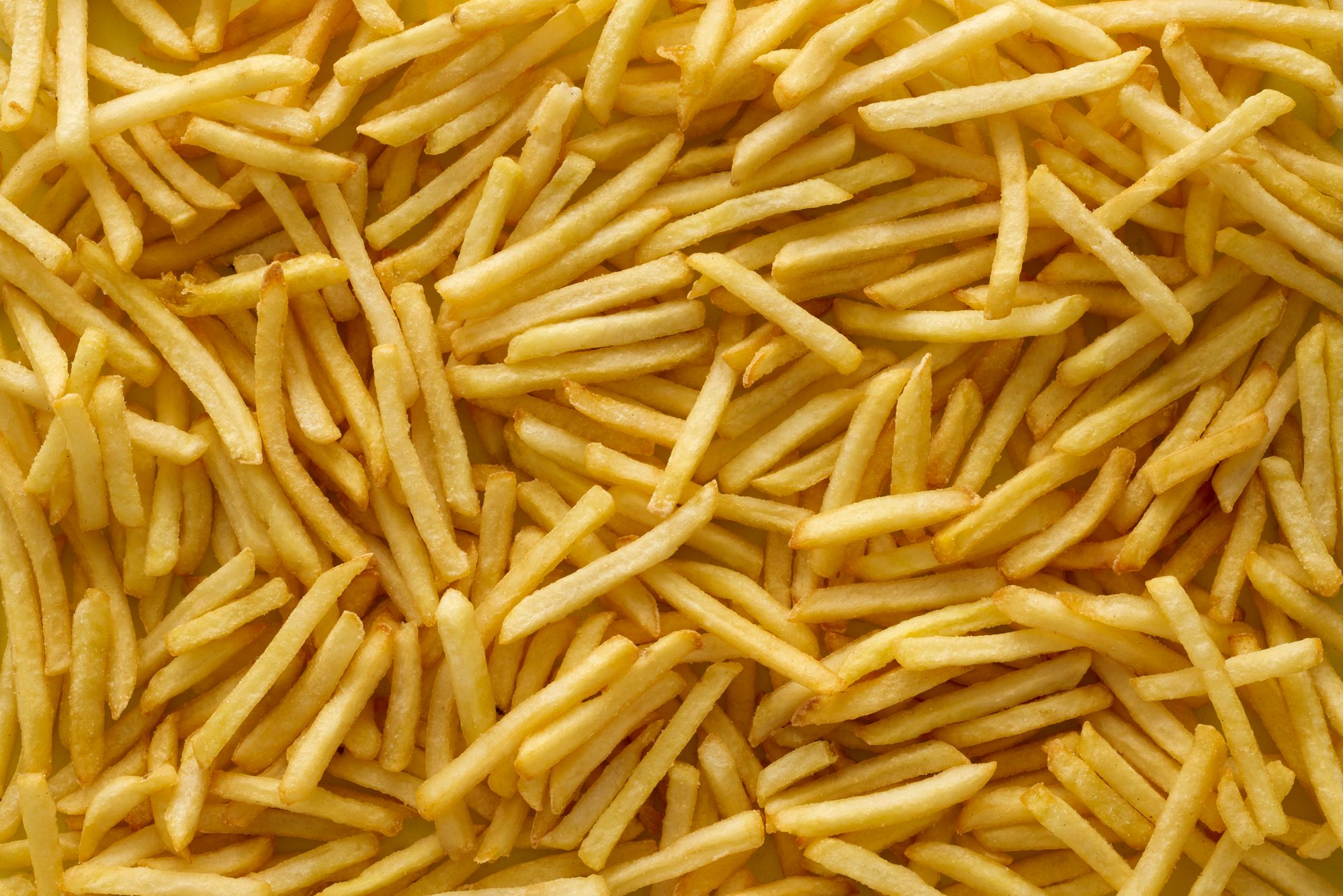 french fries full frame