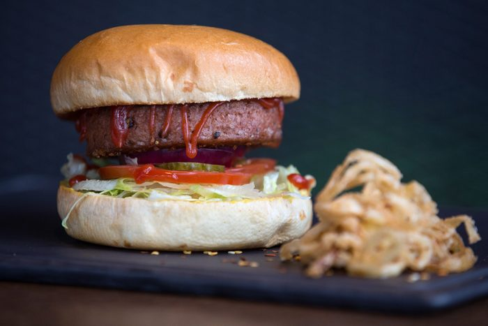 Meat Free Plant Based Burger