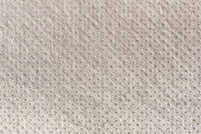 polypropylene fabric texture close up