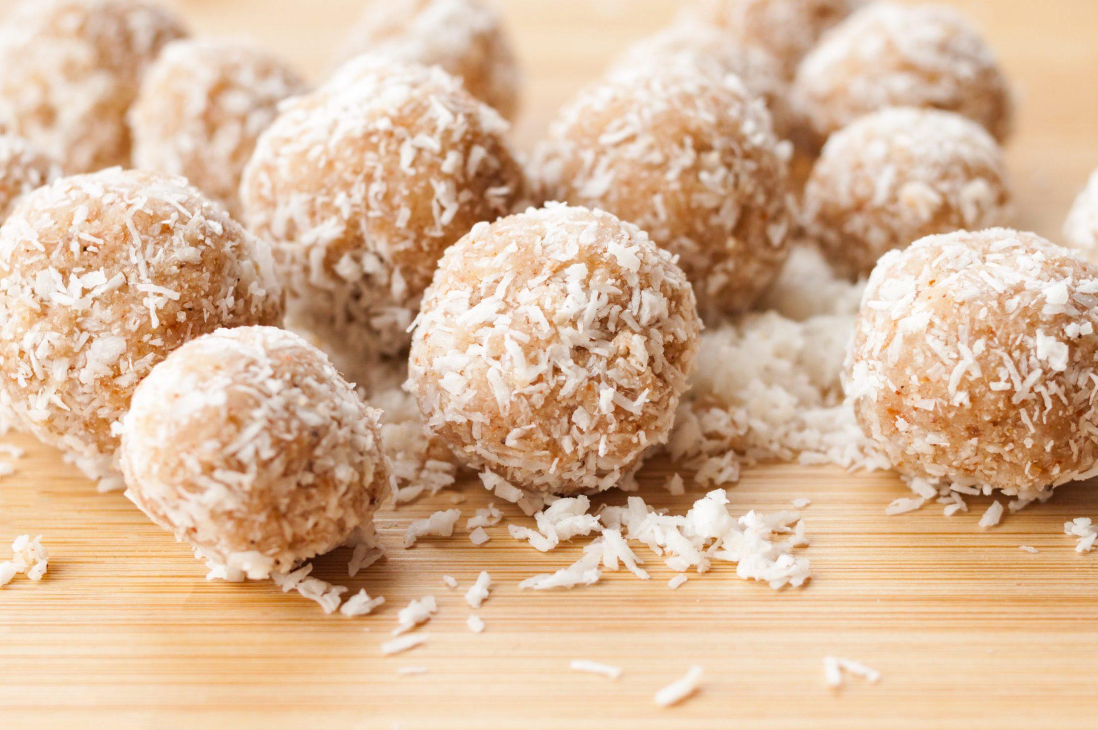 homemade protein energy balls
