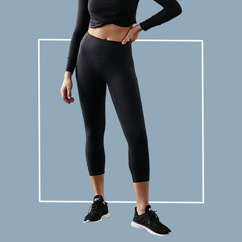 Free People High Rise 3/4 Pocket You're a Peach Leggings
