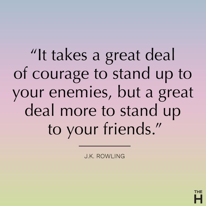 J.K. rowling funny friendship quote