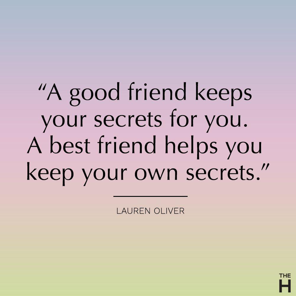 lauren oliver funny friendship quote