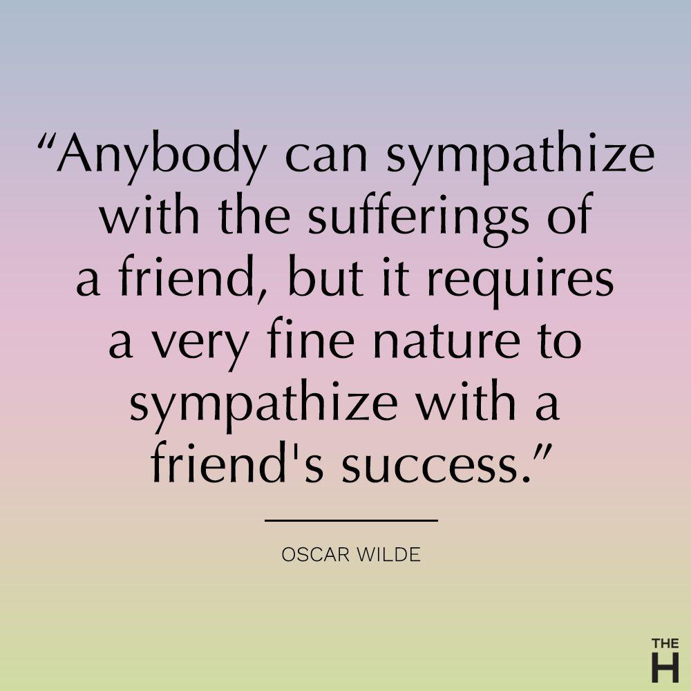 oscar wilde funny friendship quote