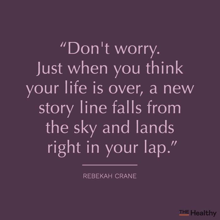 rebekah crane positive mood boosting quote