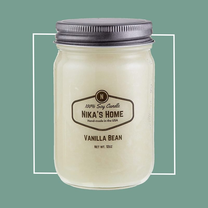 Nika's Home Vanilla Bean Candle