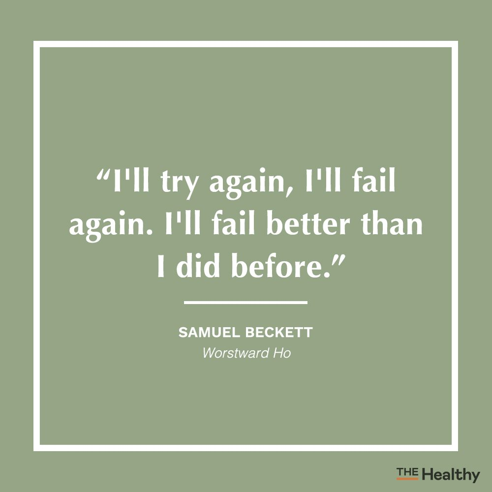samuel beckett positive thinking quote