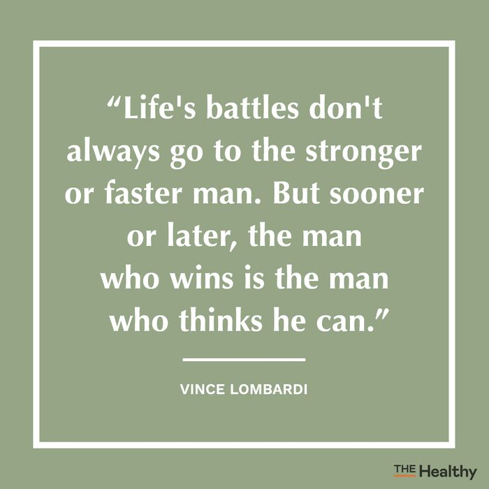 vince lombardi positive thinking quote