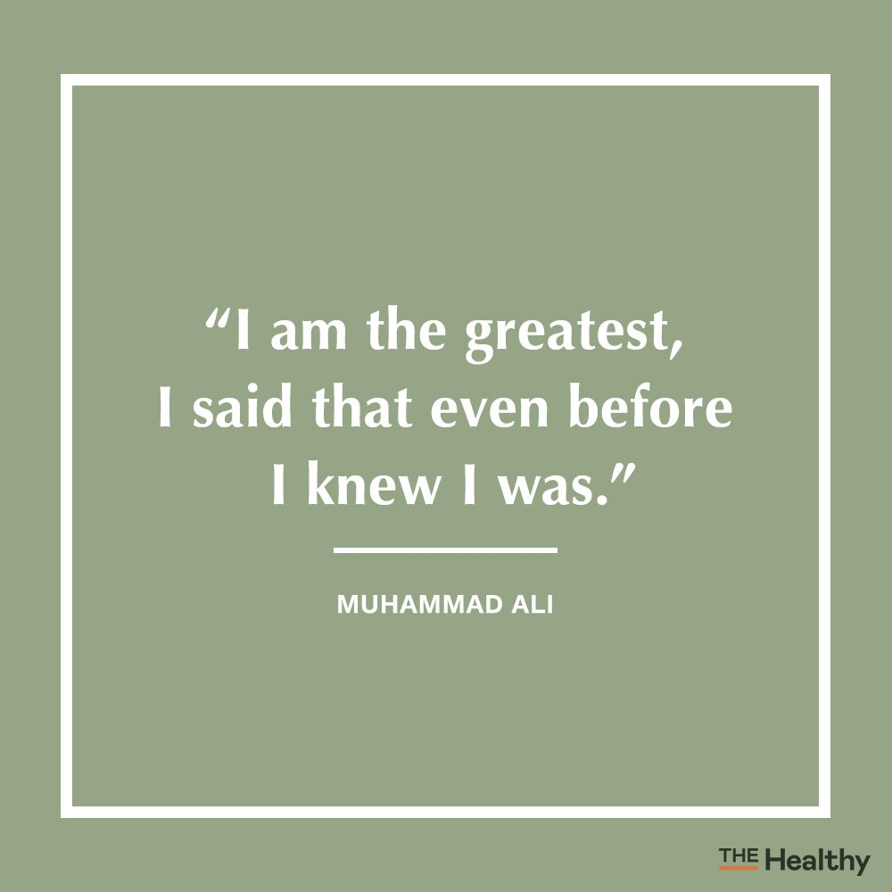 muhammad ali positive thinking quote