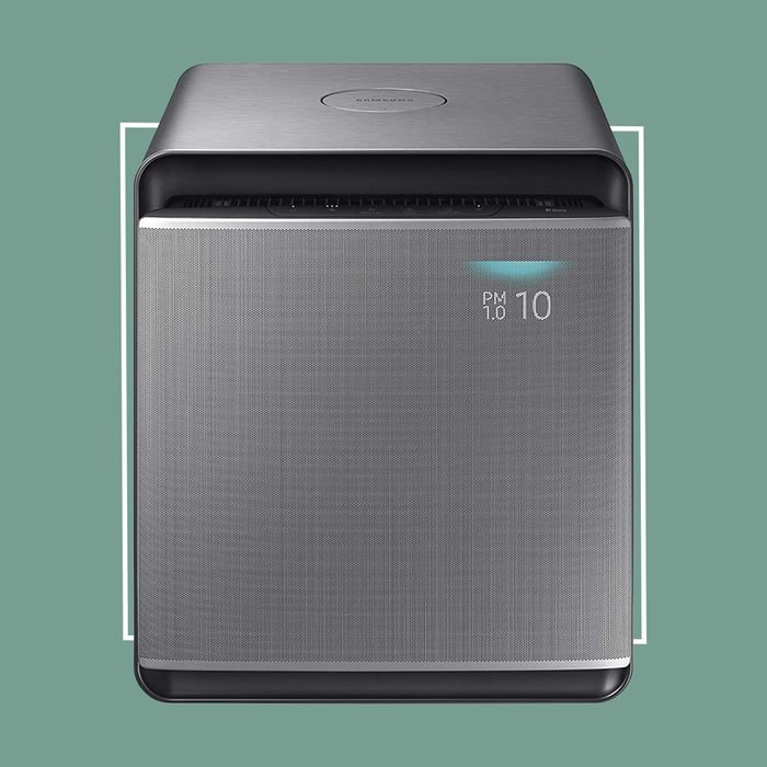 SAMSUNG Cube Smart Air Purifier with 3 Stage True HEPA Filter System