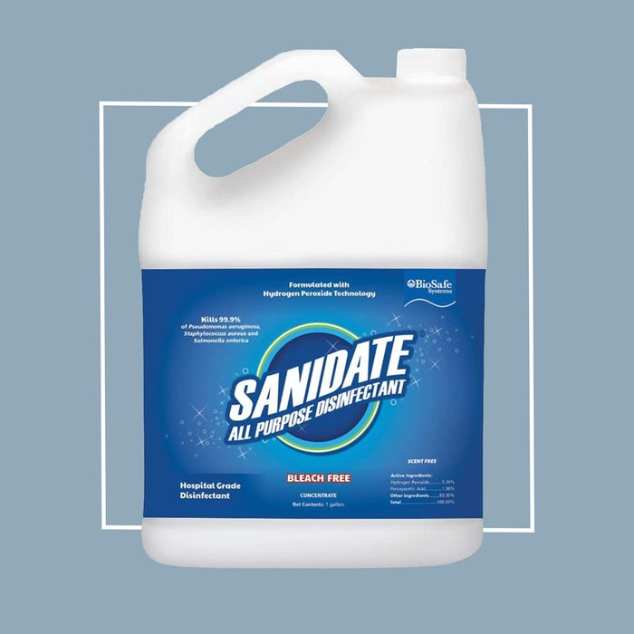 BioSafe Systems Sanidate All Purpose Disinfectant (BioSafe Systems LLC, Sanidate 5.0)