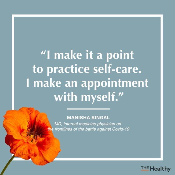 manisha singal self care quote