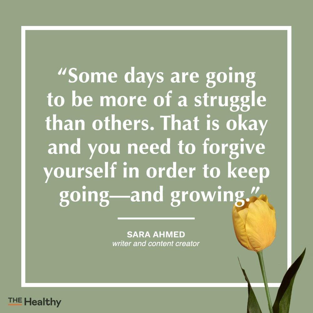 sara ahmed self care quote