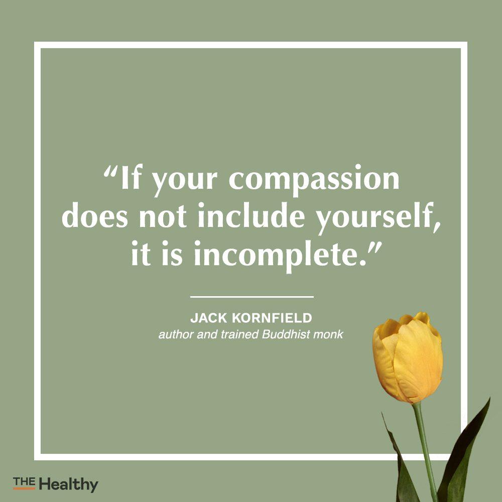 jack kornfield self care quote