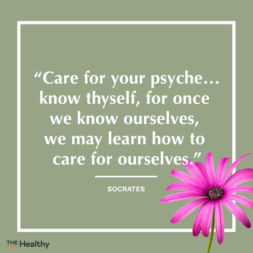 socrates self care quote